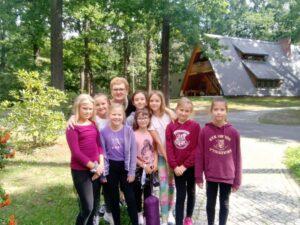 W leśnej szkole w Saksonii