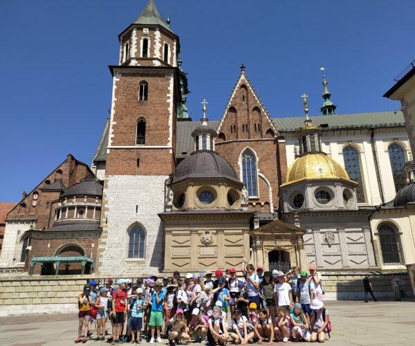 Unser Ausflug in das Ferienhaus mit Integration der Schüler aus Oppeln und Raschau. Alle sind begeistert.