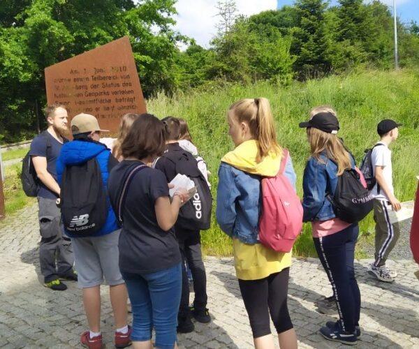 Ausflug in den Geopark