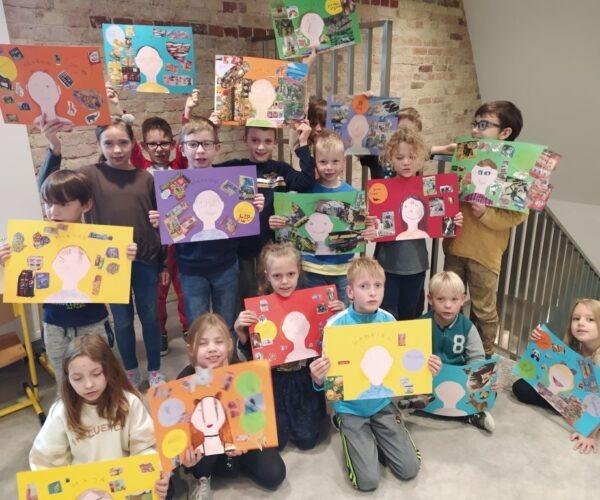 Dzieci z grypy zielonej uczestniczyły w projekcie dotyczącym tolerancji.